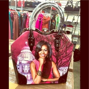 Just lovely Michelle Obama bags with stone on sale